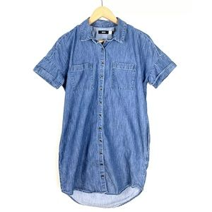 Urban Outfitters BDG Dress Denim Chambray Small